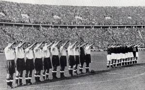 hooligans.ukranian-nazi.salute.england