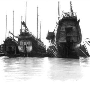 LouisPhilippe Messelier – Shanghai1930.Huang-Pu river