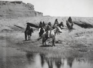 Navajo ca. 1904.Edward S.Curtis
