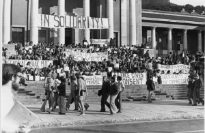 1976 Soweto Uprising South Africa.CapeTown.University