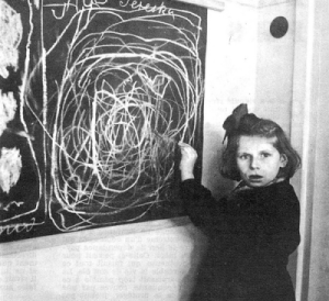 girl.survived.concentration.camp.drawing.her.Home