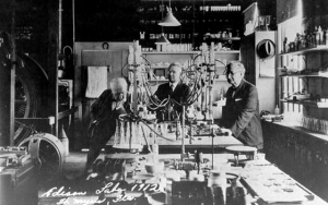 Thomas Edison's laboratory