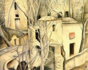 Anita Rée, White Trees1925