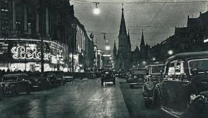 Nightlife Berlin1930's.swastika banners