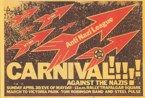 RAR.rock.against.racism.Antinazi.league1970s.carnival