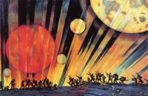 cccp.Konstantin Yuon-New.Planet.1921