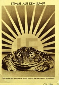 John Heartfield- Voice of the Swamp.'3000 years.of.incest.proves.the.superiority.of.my.race'1936