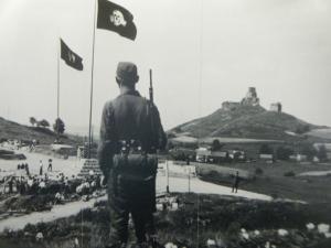 Flossenburg Castle SS officers laborers Concentration Camp