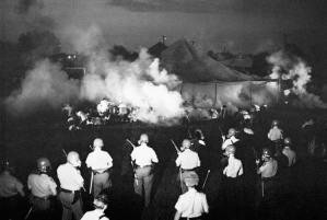riots; chaos; smoke