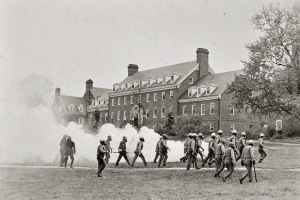 University Maryland.1970.tearGas