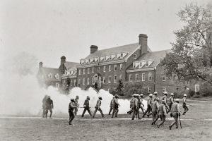 University Maryland.1970.tearGas