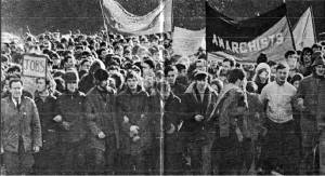 Belfast Anarchist.Peoples Democracy march1969