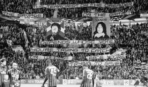 Celtic supporters William Wallace -Bobby Sands