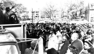 Hough uprising- King M.L