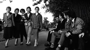 London-Teddy Boys –Teds – 1950s British rebel youth subculture -Edwardian dandies
