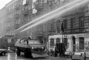 Räumung besetzter Häuser in Berlin