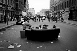 Oranienstrasse -M.Hughes.1987 Kreuzberg