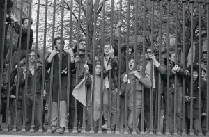 Protesters Columbia University-NY 1970