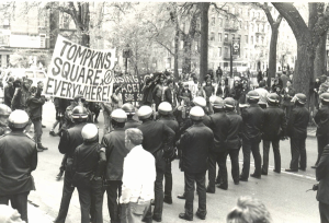 squatters.anarchist protestersTompkins Square 1980s- house the homeless