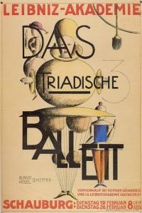Triadic Ballet (1924).theatre.Bauhaus