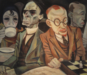 Chess Player -Jeanne Mammen1929