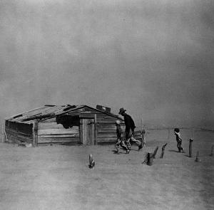 dust storm Cimarron County Oklahoma 1936