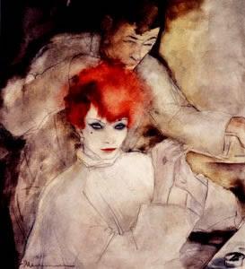Jeanne Mammen (1890-1976) Redhead 1930
