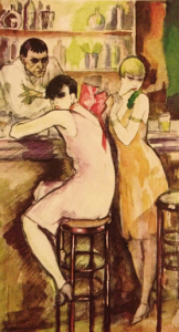 Jeanne Mammen- At the Bar 1926