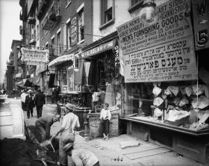north side Delancey Street.1908