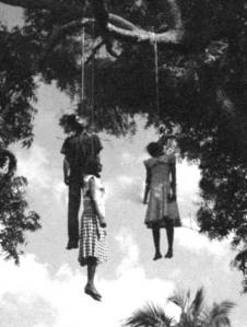 Unidentified Lynched