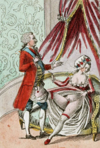 18th satire Marie Antionette Louis XVI