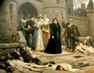 Catherine de' Medici 1572 St. Bartholomew's massacre