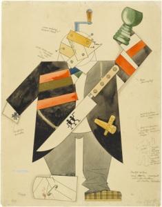 George Grosz. Methusalem1922