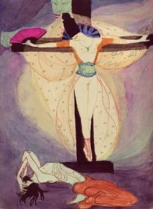Jeanne Mammen-Woman Cross1908