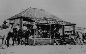 judgeRoyBean-West of the Pecos court Langtry Texas1900