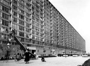 Le Haut-du-Lievre- Nancy 1960s