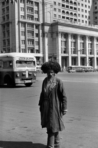 Moscow1954 man from Caucasus- Hotel Metropol