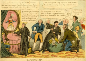 politicians prepare to leave ministry 1811