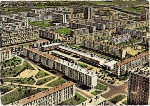 Sarcelles Locheres- Paris1960s postcard
