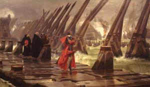 Siege_of_La_Rochelle_1881_Henri_Motte_Cardinal de Richelieu