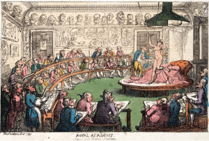 THOMAS ROWLANDSON royal academy.1811