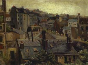 Vincent Van Gogh - Roofs Paris
