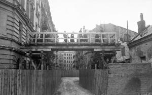 Ghetto de Varsovie: Rue Przebieg - Warsaw ghetto: Przebieg stree