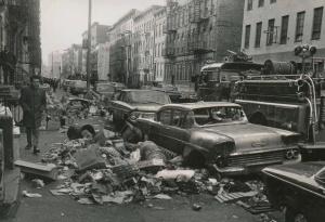 NY garbage strike1968