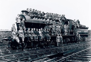 Yorkshire Railway female workers WWI