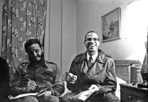 Fidel Castro -MalcolmX. NYork1960