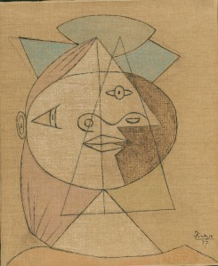 Head of a Woman.picasso1937