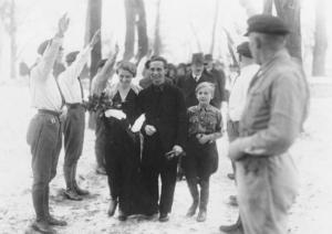 Hilter best man- Joseph Goebbels wedding