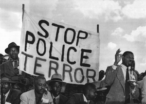 Protesters-Communist meeting Johannesburg South Africa1950