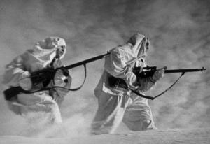 Russian snipers Leningrad